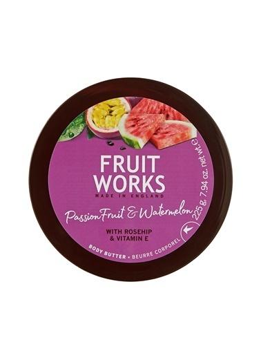 Fruit Works Passion Fruit and Watermelon Vücut Kremi 225 Gr Renksiz